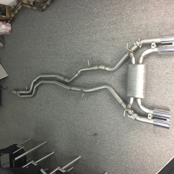 exhaust pipes for Ford Focus 1.8/2.0 exhaust