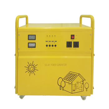 Off grid panel sun green power station rechargeable led home lighting solar energy product