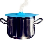 Pot Lid Benhaida Amazon Best Seller Food Grade Approved 10'' Steam Ship Pot Cover Silicone Steaming Lid
