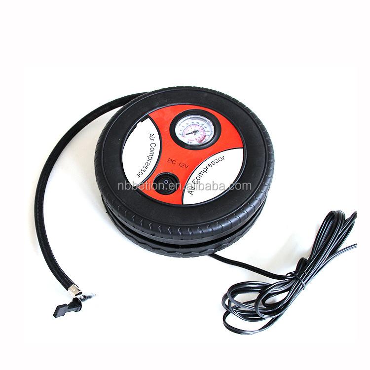compresseur d 39 air mini gonfleur de pneu utilisation de la voiture 12 v portable gonfleur de pneu. Black Bedroom Furniture Sets. Home Design Ideas