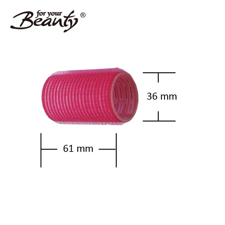 36 мм Цветные многожильные маленькие самоклеящиеся ролики для волос