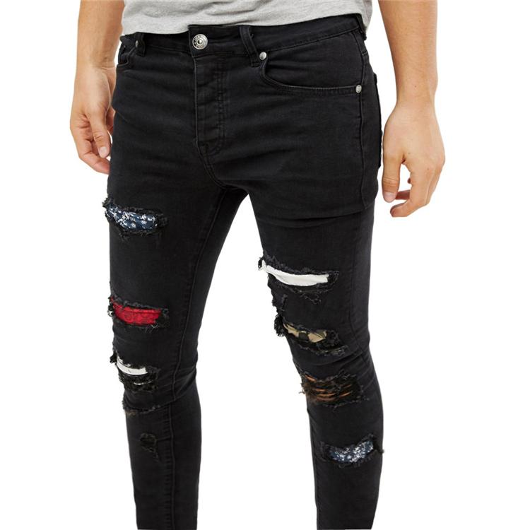 Vaqueros Largos Rasgados Para Hombre Vaqueros Ajustados Estilo Moderno Novedad De 2020 Buy Arranco Los Pantalones Vaqueros Flacos Hombres Nuevo Estilo Jeans Contenida Los Hombres Pantalones Jeans Para Hombres Product On Alibaba Com