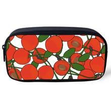 Женская сумка-карандаш с принтом десерта, портативная дорожная косметичка, сумка для хранения ручек, подарок, канцелярские принадлежности ...(Китай)