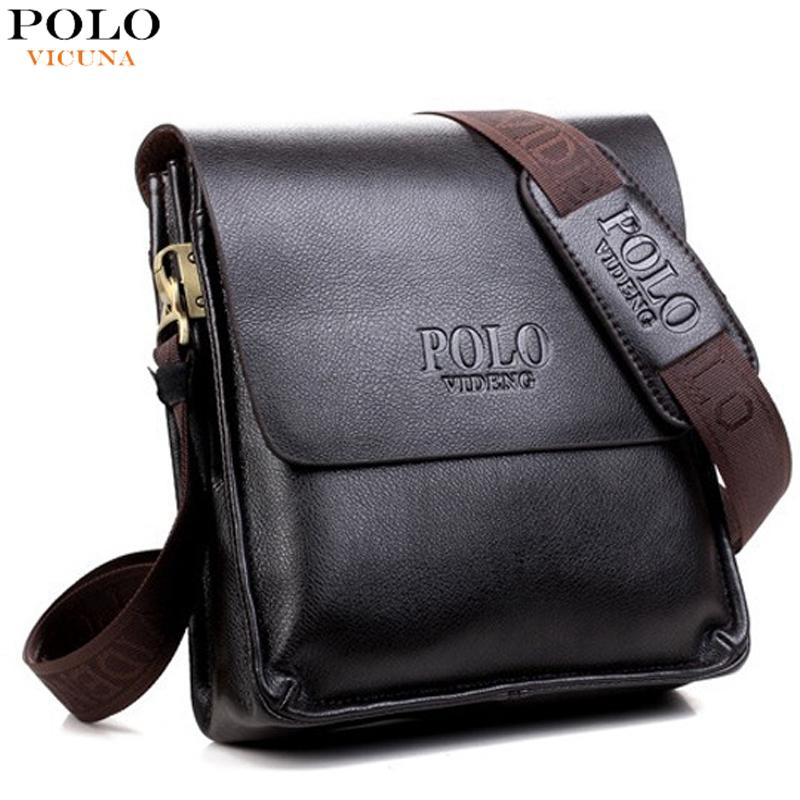 Hot Sell Famous Brand Design Leather Men Bag Casual Business Leather Mens Messenger Bag Vintage Men