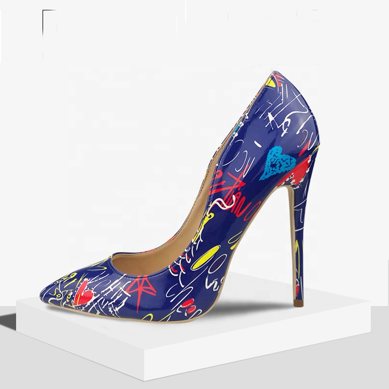 Материал подкладки ПУ, сезон весна, женские туфли на высоком каблуке