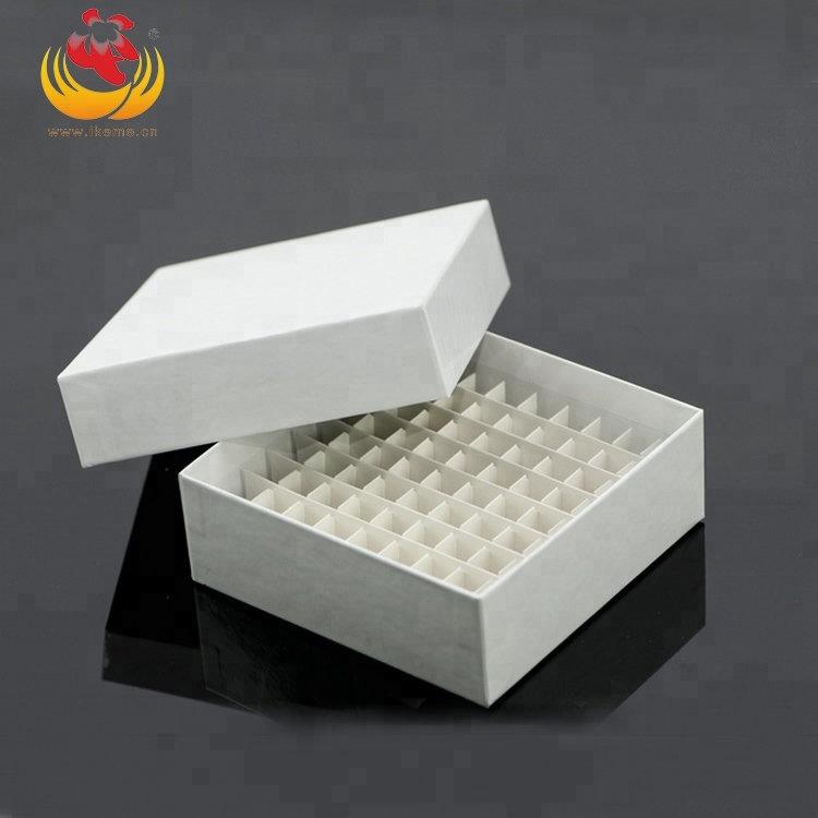 Оптовая продажа 2 дюймов 100 хорошо бумага замораживания трубка коробка малая лабораторная мельница для хранения