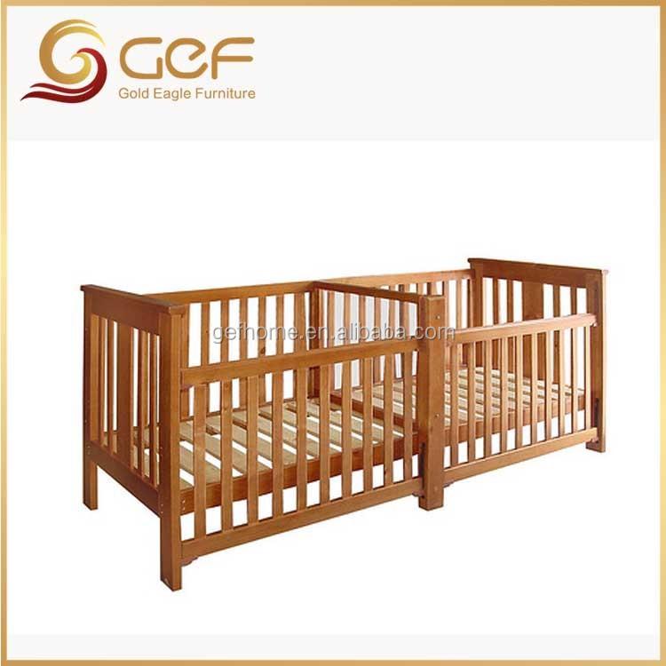 jumeaux b b s en bois berceau lit b b lit pour jumeaux gef bb 110 lit barreaux b b id de. Black Bedroom Furniture Sets. Home Design Ideas