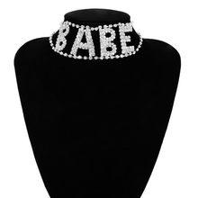 Женское Ожерелье-чокер Ingemark, украшение в виде ангела, стразы, массивное Ювелирное Украшение(Китай)