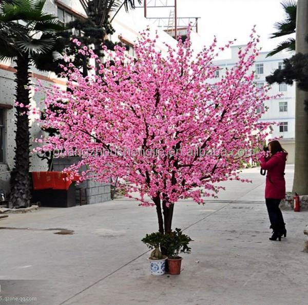 Artificial Cherry Blossom Flower Tree Plastic Bonsai Tree Buy Cherry Blossom Bonsai Tree Plastic Cherry Blossom Tree Fake Blossom Trees Product On Alibaba Com