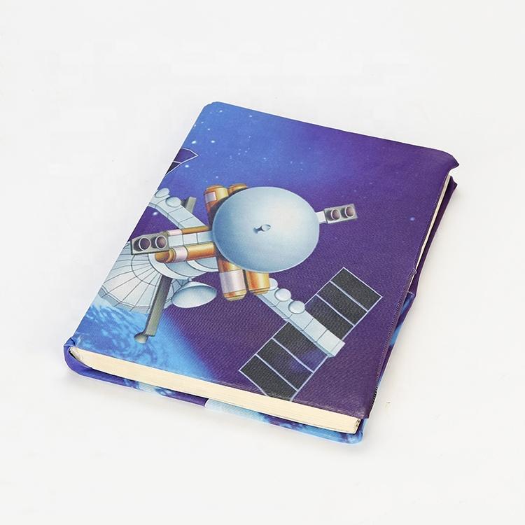 Оптовая продажа с фабрики, Высококачественная фиолетовая Обложка для книг, выдвижная Тканевая обложка для книг