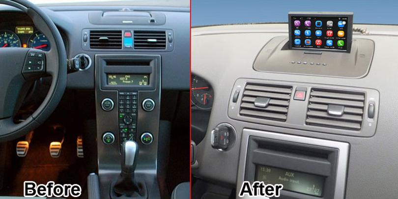 Volvo V50 Radio Upgrade