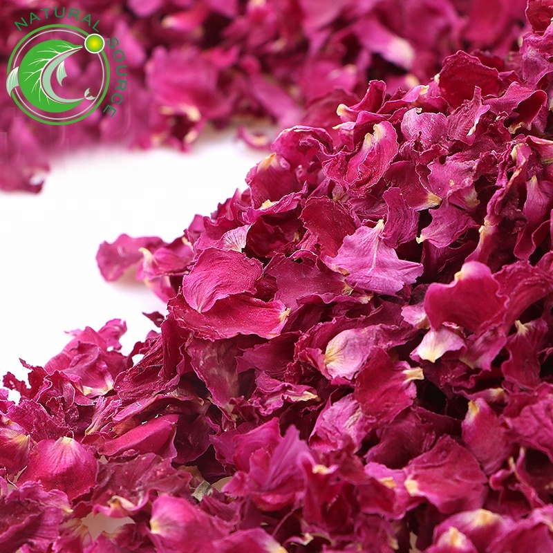 High Quality Flower Tea Sulfur-Free Red Rose Petal Tea - 4uTea   4uTea.com