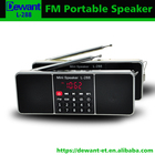 L-288 Stereo FM radio sim mp3 player with display screen