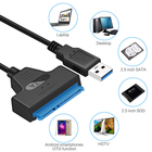 Usb To Super Speed Data 2.5 Inch SSD HDD Hard Disk USB 3.0 Sata III To Hard Drive Adapter Cable