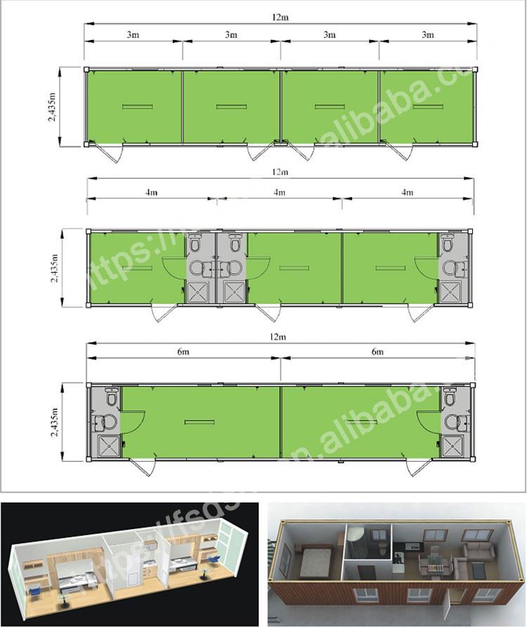 desuman sicherheit booth stahl geb ude wirft k che restaurant verwendet van beh lter haus f r. Black Bedroom Furniture Sets. Home Design Ideas