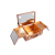 Keyson tragbare Aluminium Make-up Fall mit Lichtern Kosmetik koffer Vanity Box