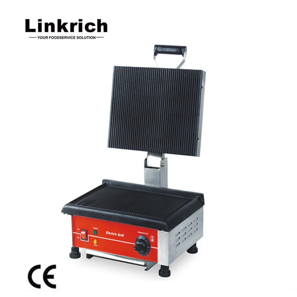 Lr Cg 1 Good Quality Industrial Ce Height Adjustable Commercial Electric Grill Sandwich Maker View Commercial Grill Sandwich Maker Linkrick Product Details From Guangzhou Linkrich Machinery Development Co Ltd On Alibaba Com