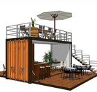 Factory direct supply 20FT pop up Container coffee Shop with cheaper price