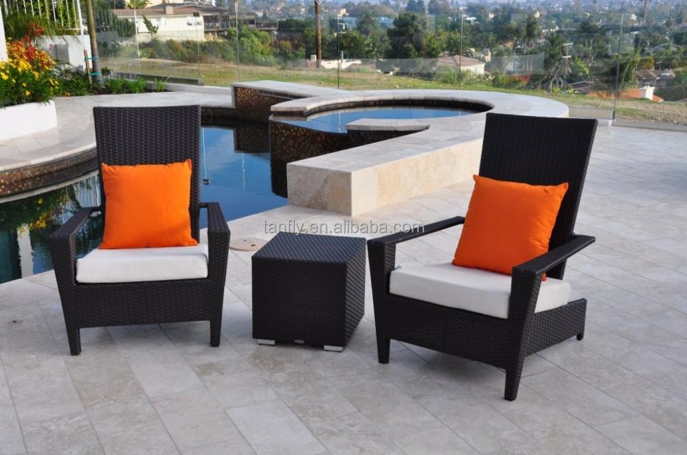 Modern Design High Quality Hotel Furniture Outdoor Wicker