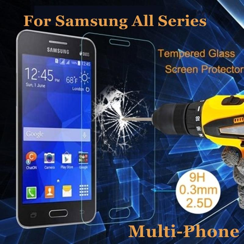 New Quality Ultra Thin 0 3mm Anti shatter Tempered Glass For Samsung Galaxy Series Multi Phone
