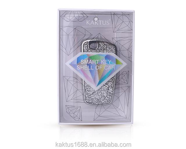 Чехол для автомобильного ключа BMW 5/3 серии M2M3M4M6 PC Алмазный кристаллический защитный чехол для автомобильного ключа