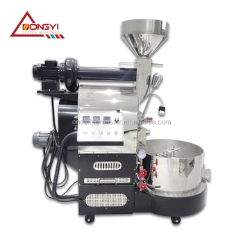 Promotion 6kg coffee roaster/5kg 6kg coffee roasting machine/electric&gas coffee roaster with free gift machine
