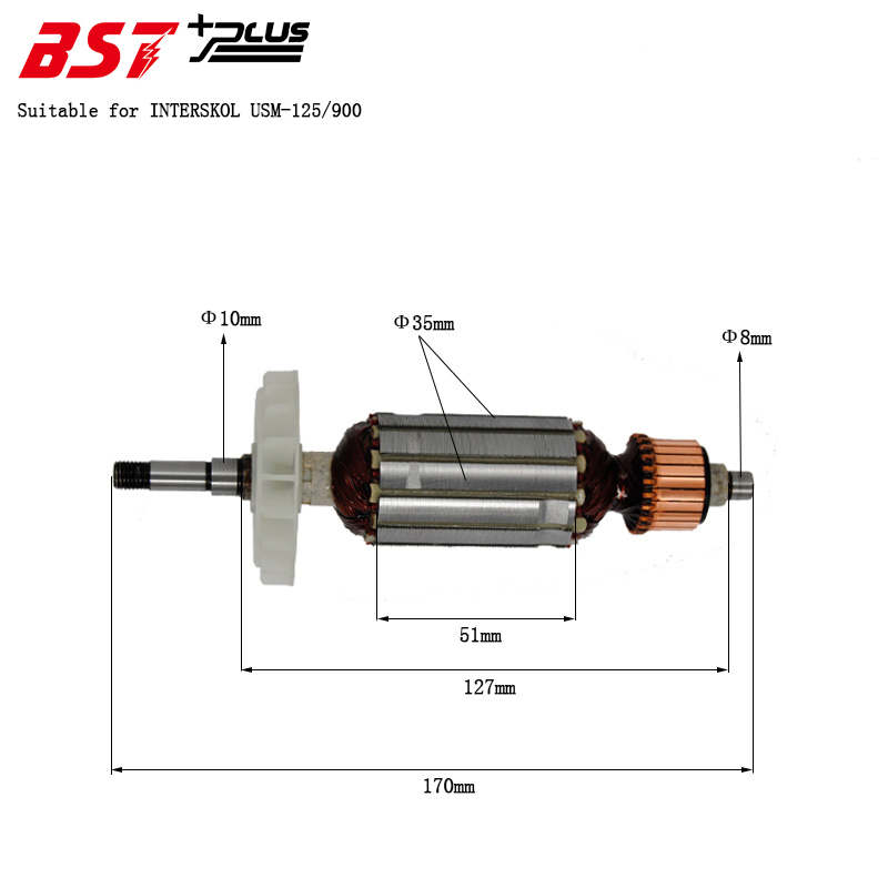 Stator Armature Power Tool Spare Parts For TOSAN MINI 850
