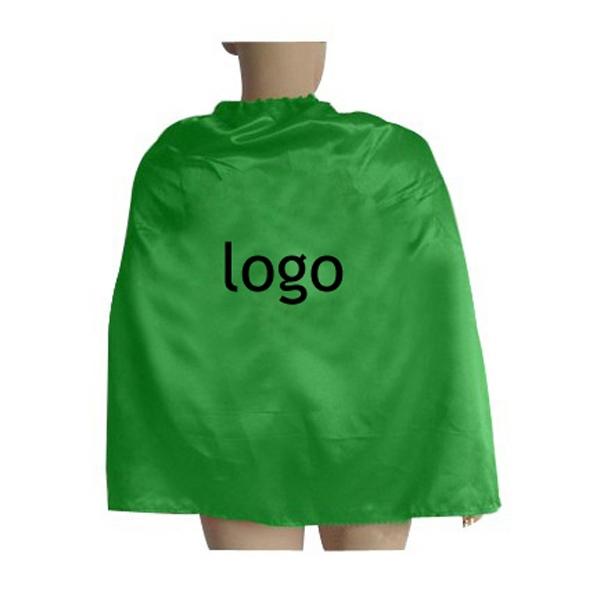 Custom Logo Printed Single Layer Kids Superhero Capes for Sale