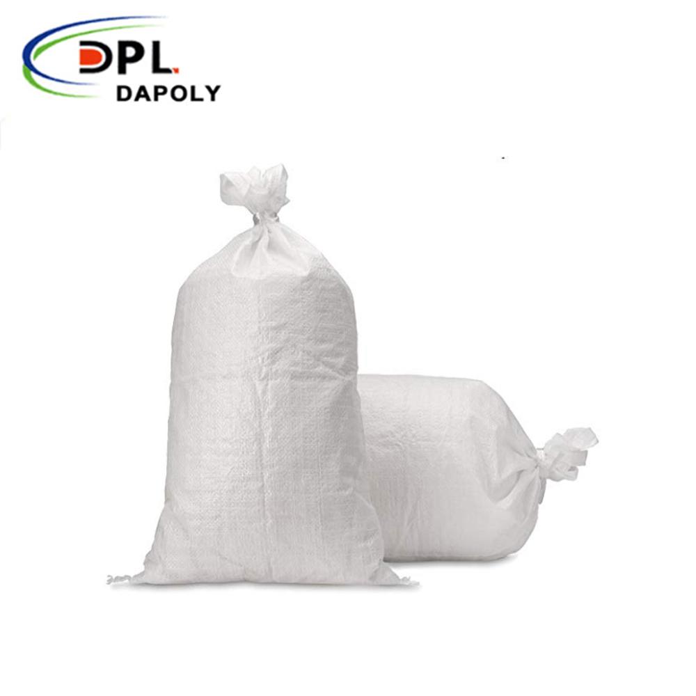 Dapoly Flour Sack Pp Woven Shopping Bag With Zipper Flour Sack 50kg flour sacks bags