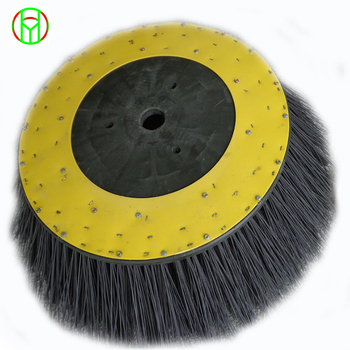 Hot Sale PP&Wire Gutter Broom Road Brush Sidebroom For Dulevo 5000 Sweeper