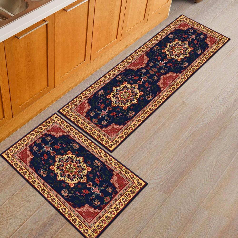 American Home Textiles Aubusson Decorative Non slip Polyester ...