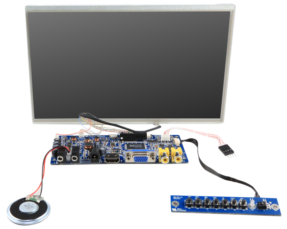 Hdmi 10.1'' Raspberry Pi 1080p Lcd Touch Screen - Buy ...