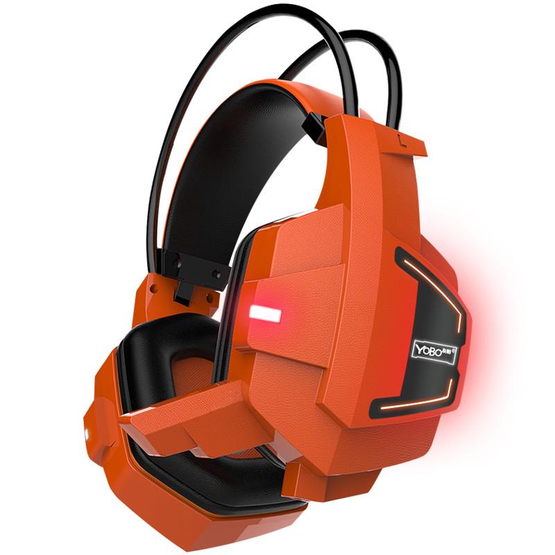 New Ghosts G 1000 Stereo Glow Gaming Headphone Headset Headband