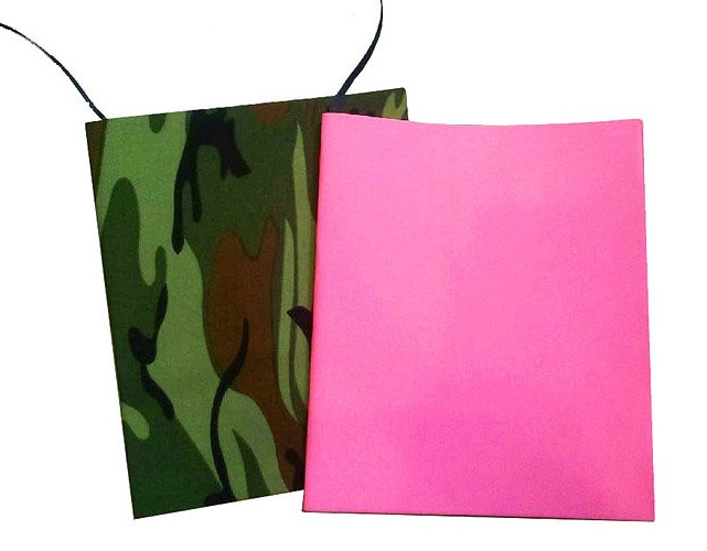 Customized coloful cheap soft printing logo cotton fabric book cover
