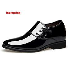 Merkmak/2020 Мужские модельные туфли; Мужская официальная Свадебная обувь с острым носком; модные туфли из искусственной кожи; Туфли-оксфорды на ...(Китай)