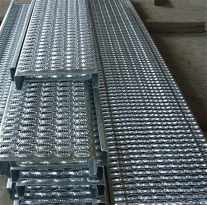 Slip Stair Treads Aluminum Antiskid Plate Perforated