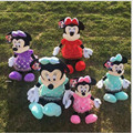 4 Color 40CM Mickey Minnie Mickey Mouse plush SET DOLL Wedding Doll Cushions Gifts For Children