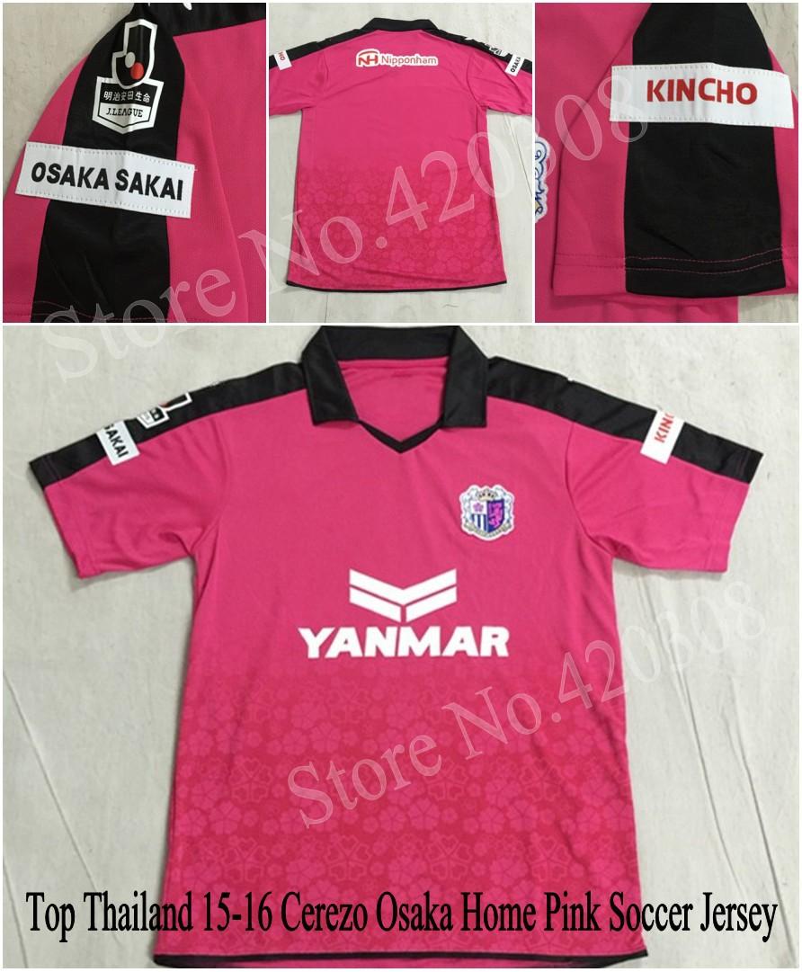 J League Football Shirts: Top Thai 2015 Japan J League Cerezo Osaka Jerseys 15 16