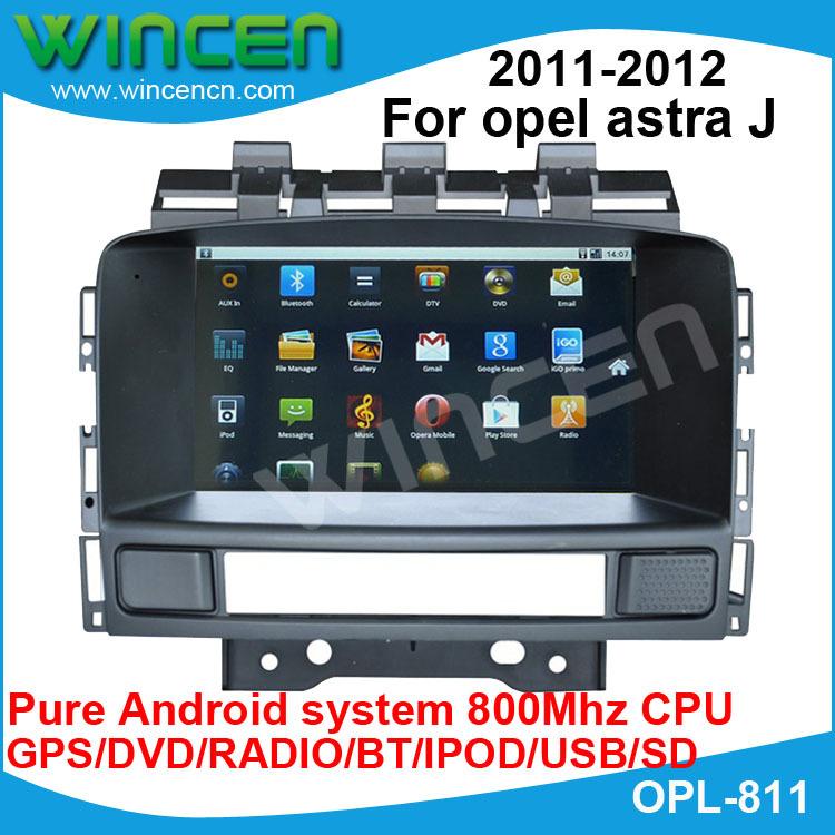 buy car dvd for opel astra j 2011 2012. Black Bedroom Furniture Sets. Home Design Ideas