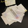 transparent pvc case+paper card