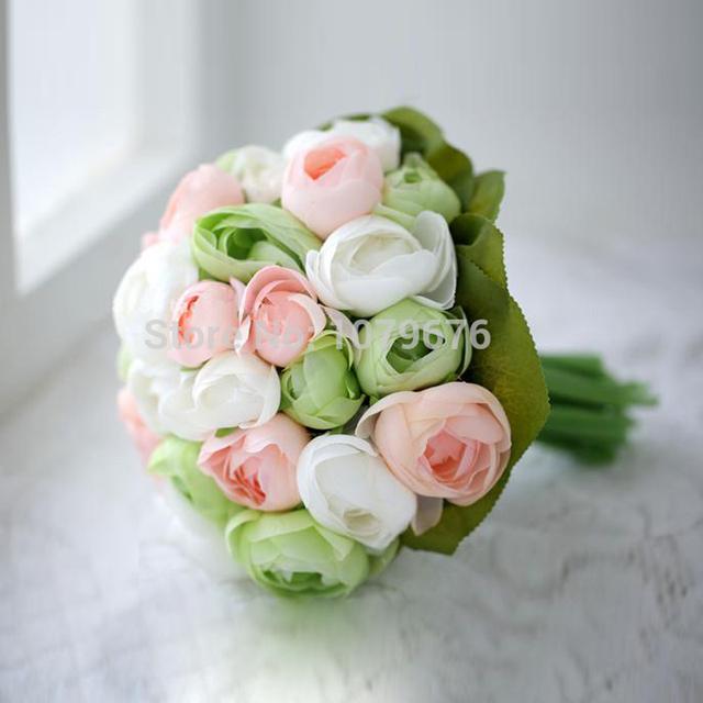 onirique jolie simulation de mari e tenant des fleurs fleur artificielle mari e bouquet de. Black Bedroom Furniture Sets. Home Design Ideas
