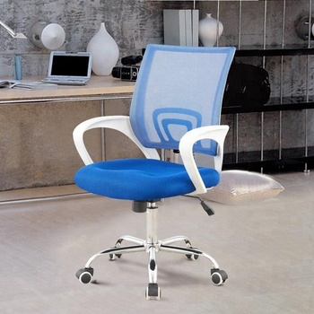 C12A Hot sale small white basic computer desk chair at low price