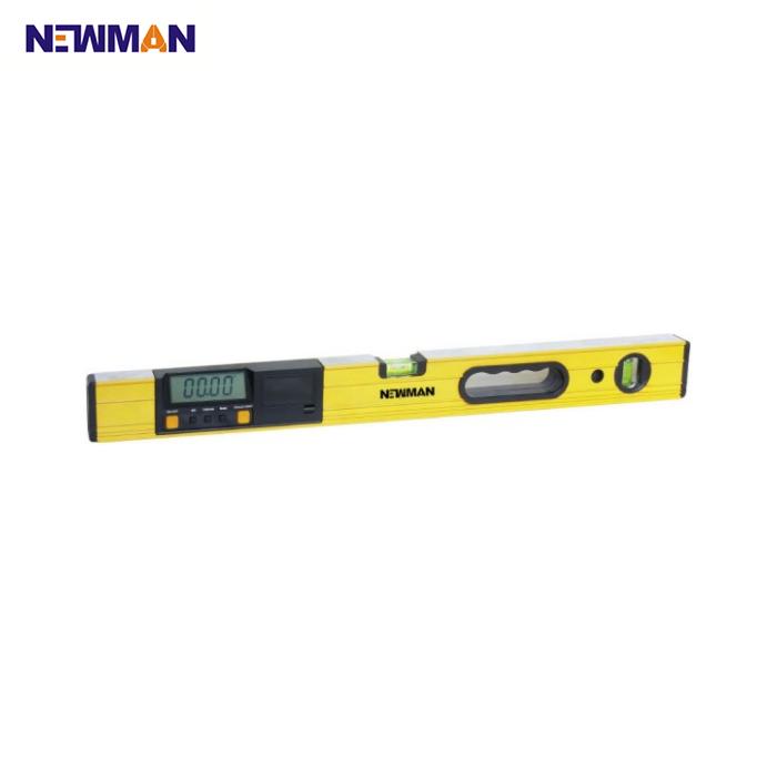 NEWMAN Тип 6149 алюминиевый квадратный трубчатый пузырьковый плоский цифровой спиртовой уровень
