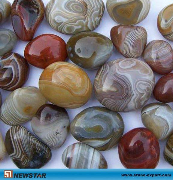 Агат-галька-камень, натуральная галька для резьбы