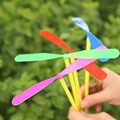 10PCS Lot Children Plastic Toys Happy New Year Gifts Bamboo Dragonfly Toy Creative Fun Free Shipping