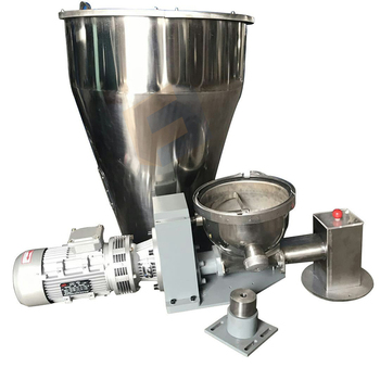 Stainless steel Volumetric feeder loss in weight feeder and continuous weighing system screw feeder