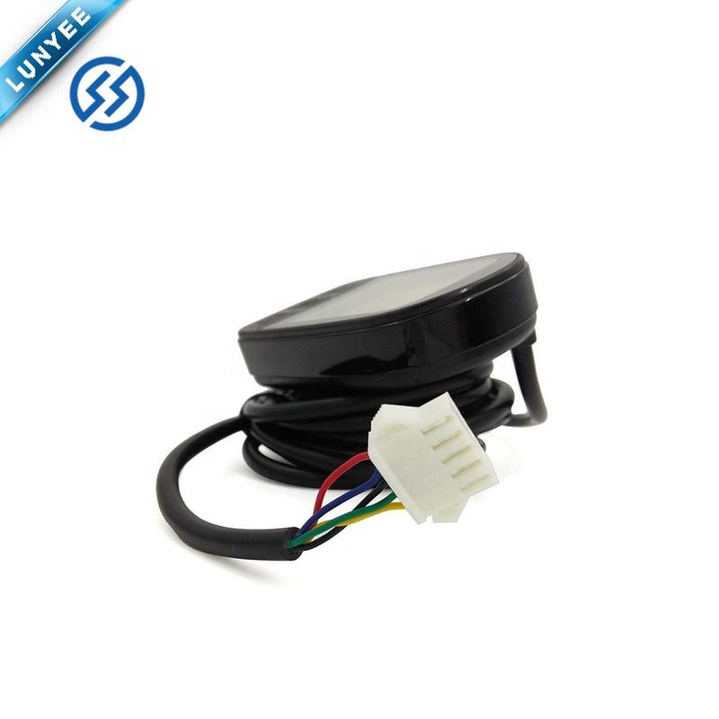 Электрический 24 в 36 в 48 в ЖК-Дисплей велосипедный Спидометр дисплей для электровелосипеда