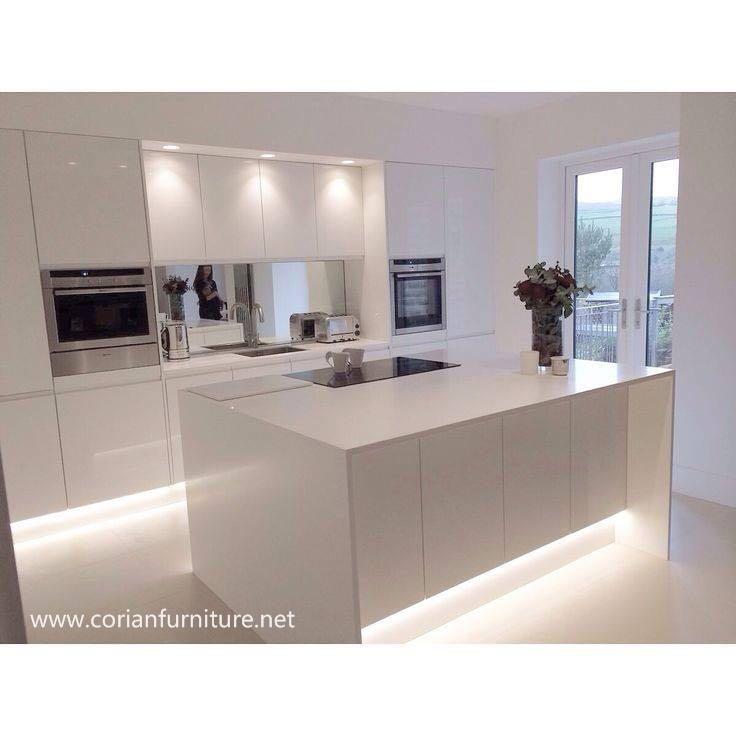 Acrylic Solid Surface Kitchen Island Top White Marble Countertop Buy Cheap Solid Surface Countertop Durable Cultured Marble Kitchen Countertop Best Price Kitchen Island Countertop Product On Alibaba Com