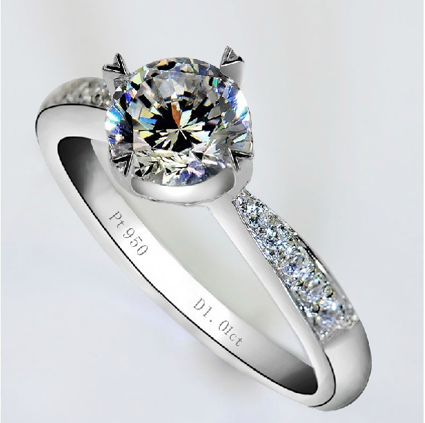 Aliexpress.com : Buy 0.6Ct Pretty Rings Engagement Wedding