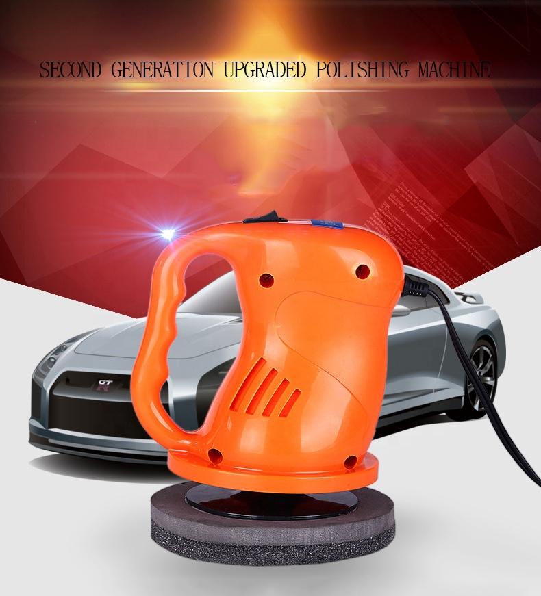 Portable Small Rotary Hand Forced Orbital Polisher Wax Car Polishing Tools Product
